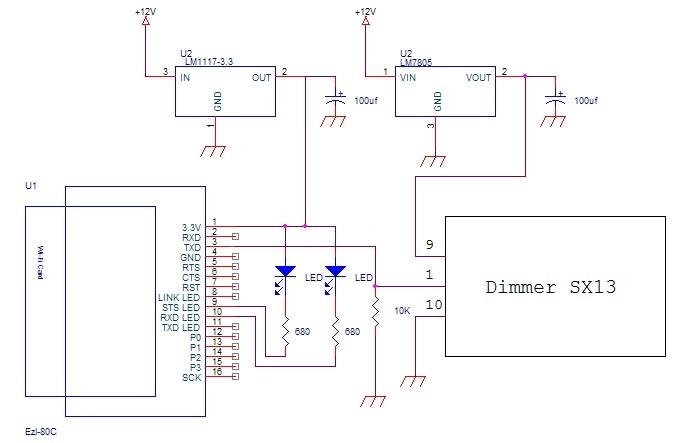 Schema Elettrico Per Yard : Schema elettrico per dimmer v